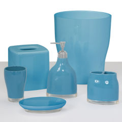 Bathroom Accessories Blue blue bathroom accessories for bed & bath - jcpenney