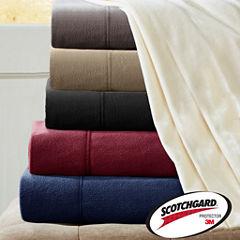 Peak Performance 3M Scotchgard™ Micro Fleece Sheet Set