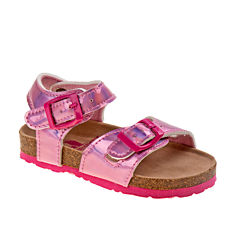 Rugged Bear Girls Flat Sandals - Toddler
