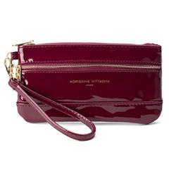 Adrienne Vittadini   Zip Pocket Wallet Wristlet