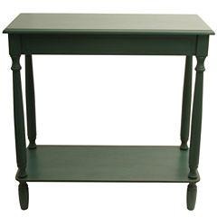Decor Therapy Antique Console Table