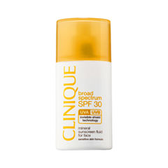 CLINIQUE Broad Spectrum SPF 30 Mineral Sunscreen Fluid for Face