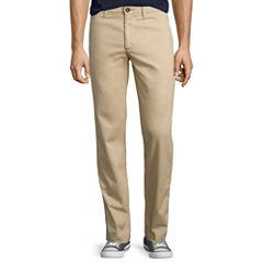 Arizona Slim-Fit Straight-Leg Flex Chinos