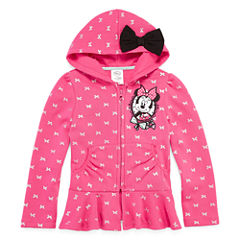 Disney Collection Minnie Fleece Jacket - Girls
