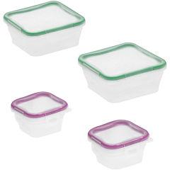 Snapware® Total Solution 8-pc. Plastic Food Storage Set
