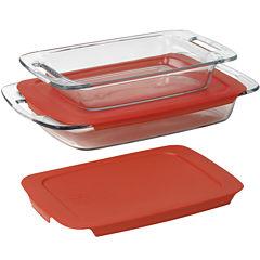 Pyrex® 4-pc. Easy Grab Bakeware Set