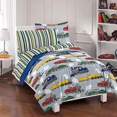 Dream Factory Trains Comforter Set
