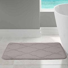 Pacific Coast Textiles Lattice Memory Foam Bath Rug