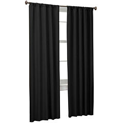 Microfiber Rod-Pocket 2-Pack Curtain Panels