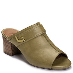A2 by Aerosoles Mid West Womens Heeled Sandals