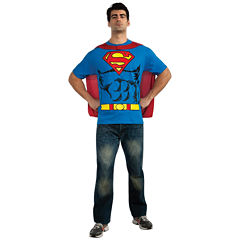 Superman T-Shirt Adult Costume Kit
