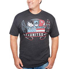 Short Sleeve DC Comics Graphic T-Shirt-Big and Tall