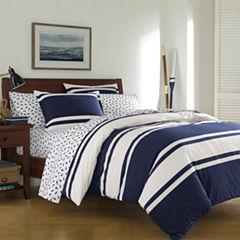Poppy & Fritz Rylan Bedding Collection 2-pc. Stripes Reversible Comforter Set
