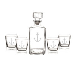 Cathy's Concepts 5-pc. Anchor Decanter Set