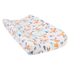 Trend Lab Woodland Moose Plush Changing Pad Cover