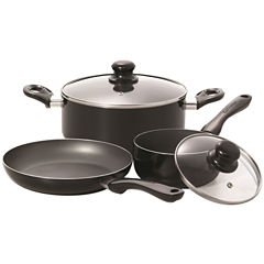 Starfrit 5-pc. Aluminum Dishwasher Safe Non-Stick Cookware Set