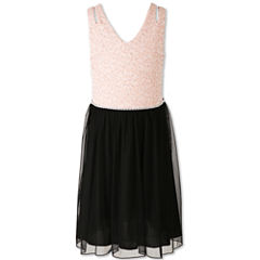Speechless Sleeveless Party Dress - Big Kid Girls Plus