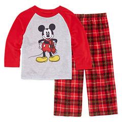 Disney Mickey Mouse Family Pajama Set- Toddler Boys