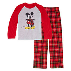 Disney Mickey Mouse Family Pajama Set- Boys Big Kid