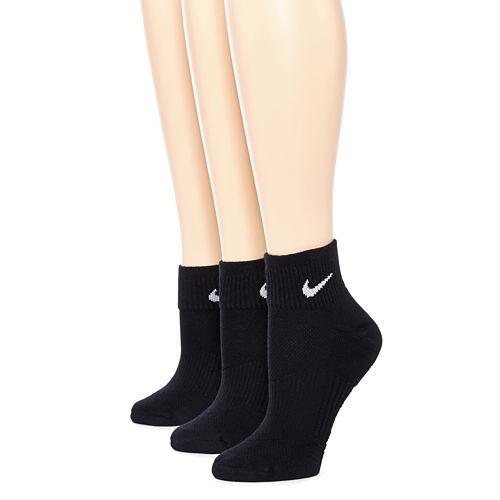 Nike® 3-pk. Quarter Socks