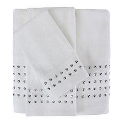 Color Drift Nailhead Foil Bath Towel Collection