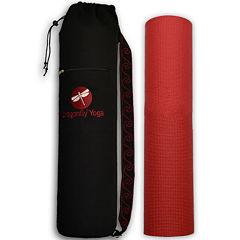 DragonFly™ Studio Yoga Mat & Carrying Bag Set