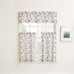 Forest Friends Rod-Pocket Kitchen Curtains