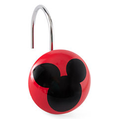 Disney Chevron Mickey Mouse Shower Curtain Hooks