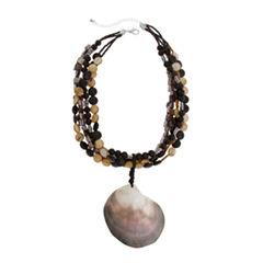 EL by Erica Lyons El By Erica Lyons Black Naturals Womens Pendant Necklace