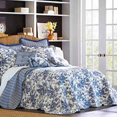 Toile Garden Bedspread