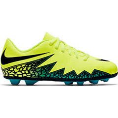 Nike® Jr. HyperVenom Phade II FG-R Cleats - Little Kids/Big Kids