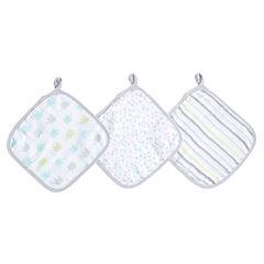 Ideal Baby 3-PK  Washcloths- Dreamy