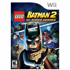 Lego Batman 2 Super Hero Ninjago Video Game-Wii