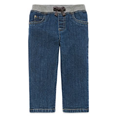 Arizona Dark Wash Jeans - Baby Boys 3m-24m
