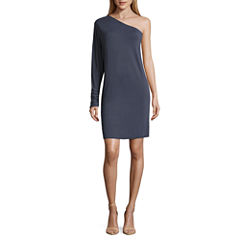 Worthington Long Sleeve Sheath Dress
