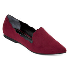 Style Charles Kit Scalloped Smoking Flats