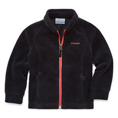 Columbia Lightweight Fleece Jacket-Toddler Girls