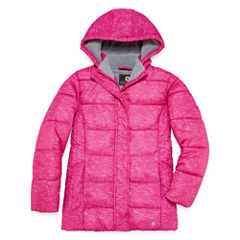 Xersion Heavyweight Puffer Jacket - Girls-Big Kid