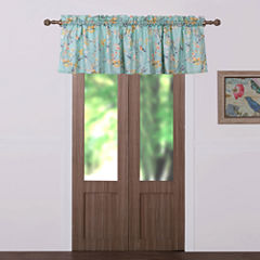 Barefoot Bungalow Cherry Blossom Rod-Pocket Tailored Valance