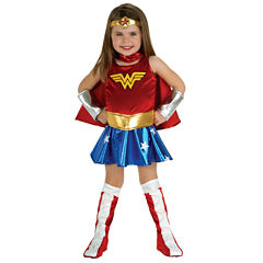 Wonder Woman 6-pc. Dress Up CostumeGirls
