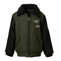 Wool Bomber Jacket- Boys Big Kid