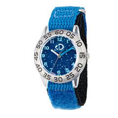 Discovery Kids Boys Blue Strap Watch-Wdc000117