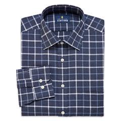 Stafford® Long-Sleeve Brushed Twill Dress Shirt - Big & Tall