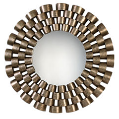 Taurion Decorative Round Wall Mirror
