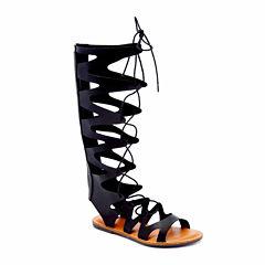 N.Y.L.A Susanna Womens Gladiator Sandals