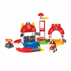 67 Piece I-Builder Train Station Set