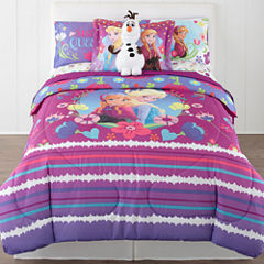 Disney® Frozen Nordic Summer Reversible Twin/Full Comforter + BONUS Sham Collection