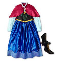Disney Frozen Anna Costume and Accessories – Girls 2-12