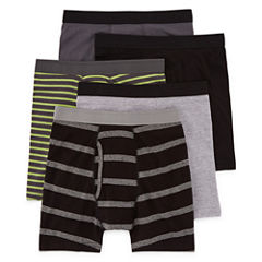 Arizona 5-pc. Boxer Briefs Big Kid Boys