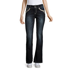 Wallflower Bootcut Jeans-Juniors